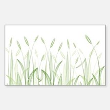 Delicate Grasses Decal