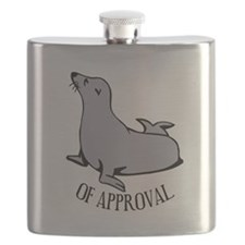 Seal of Approval Flask