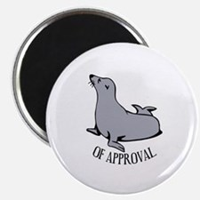 Seal of Approval Magnet