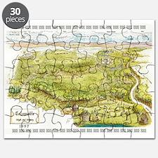 1997 Columcille Map Puzzle