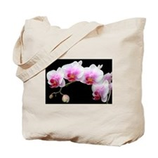 White Phalaenopsis Orchid Tote Bag