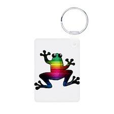 Rainbow Frog Keychains