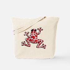 Heart Frog Tote Bag