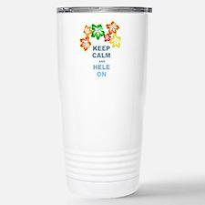 Keep Calm Hele On Travel Mug