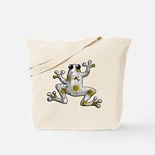 Daisy Frog Tote Bag