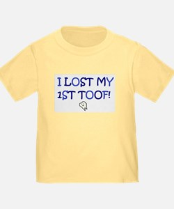 I LOST MY 1ST TOOF! T