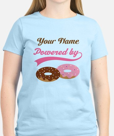 Powered By Doughnuts personalized T-Shirt