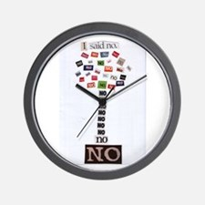 I said no Wall Clock