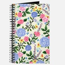 French Country Garden Print Journal