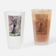 Moon Dream Fairy Fantasy Art Drinking Glass