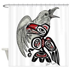 Raven Spirit Shower Curtain