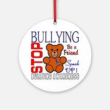 Bullying Awareness Round Ornament