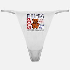 Bullying Awareness Classic Thong