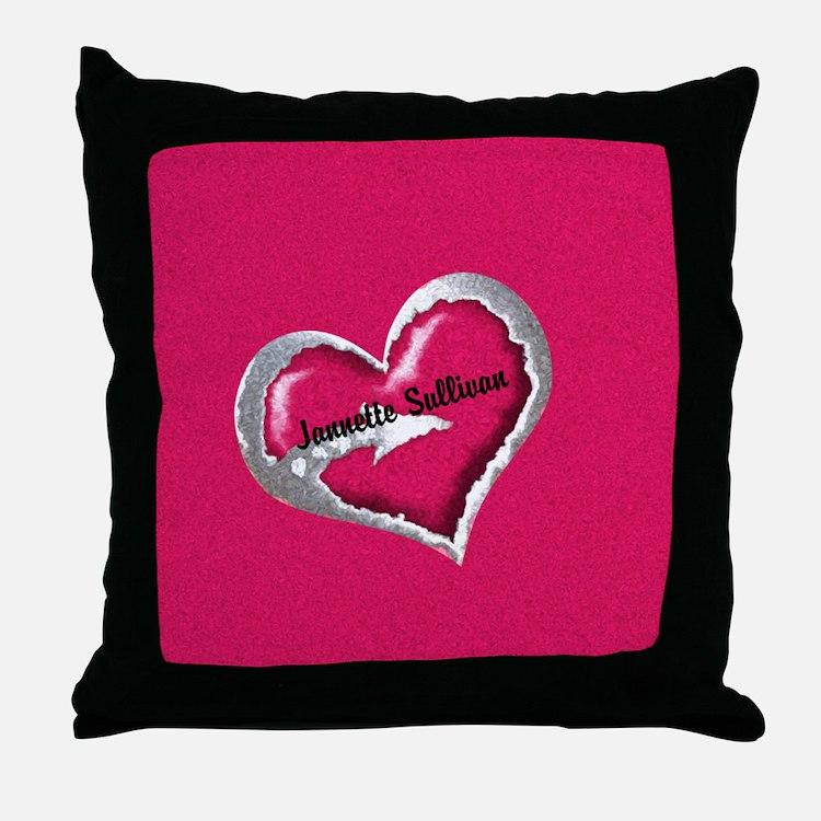 Modern Bridal Shower Pillows, Modern Bridal Shower Throw Pillows & Decorative Couch Pillows