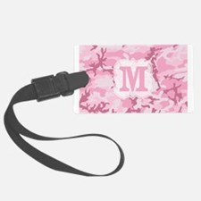 Monogram Pink Camouflage Luggage Tag
