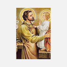 Joseph & Jesus Rectangle Magnet