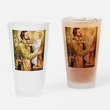Joseph & Jesus Drinking Glass