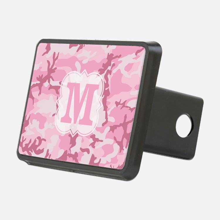 Monogram Pink Camouflage Hitch Cover