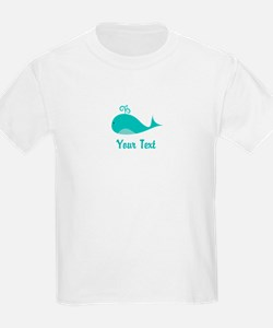 Personalizable Cute Whale T-Shirt