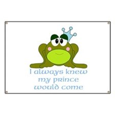 Cute Frog Prince Banner