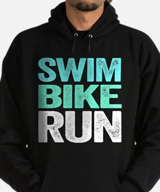 Triathlon. Swim. Bike. Run. Hoody