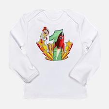 Rocket 1st Birthday Long Sleeve Infant T-Shirt