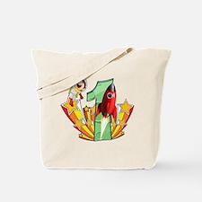 Rocket 1st Birthday Tote Bag