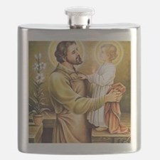 Joseph & Jesus Flask