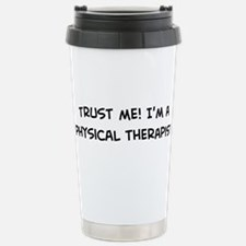 Funny Physical therapist job Travel Mug