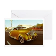 roadster Greeting Card