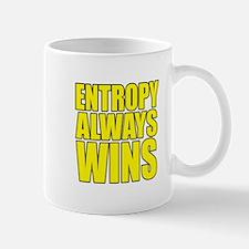 Entropy Always Wins 3 Mugs