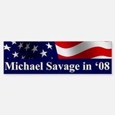 Michael Savage Bumper Bumper Bumper Sticker