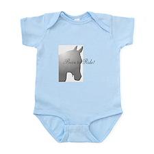 Horse Design by Chevalinite Infant Bodysuit