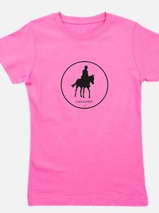 Horse Design by Chevalinite Girl's Tee