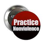 Practice Nonviolence Button
