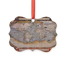 antique world map Ornament