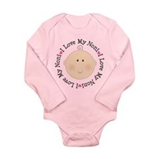 I Love My Noni Long Sleeve Infant Bodysuit