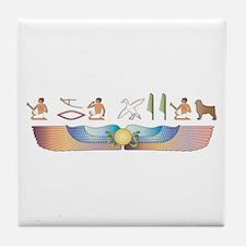 CAO Hieroglyphs Tile Coaster
