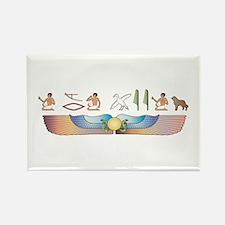 Caucasian Hieroglyphs Rectangle Magnet