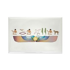 Catahoula Hieroglyphs Rectangle Magnet