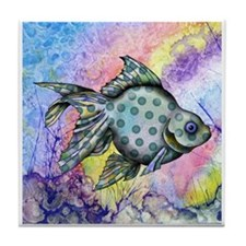 Wild Fish Tile Coaster