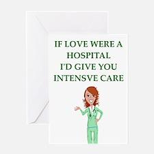 hospital Greeting Cards