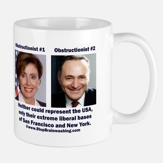 liberals - today's brown Mug