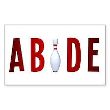 Abide Bumper Stickers