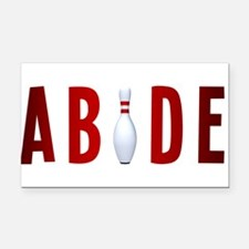 Abide Rectangle Car Magnet