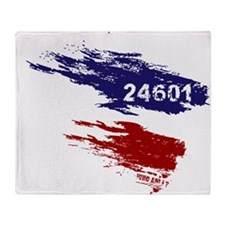 Who Am I? 24601 Throw Blanket