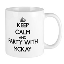Keep calm and Party with Mckay Mugs