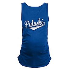 Pulaski, Retro, Maternity Tank Top