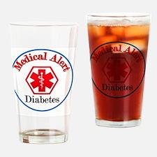 medical alert diabetes Drinking Glass