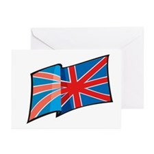 Union Jack Greeting Cards (Pk of 10)